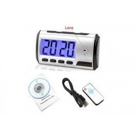 Digital Alarm Clock Spy Hidden Pinhole Camera + Motion Sensor